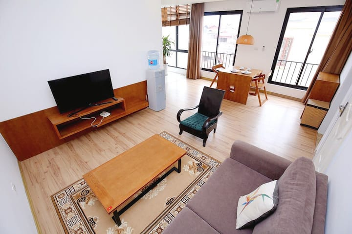 Cozy and well designed apt/ Westlake/ Lotte Center