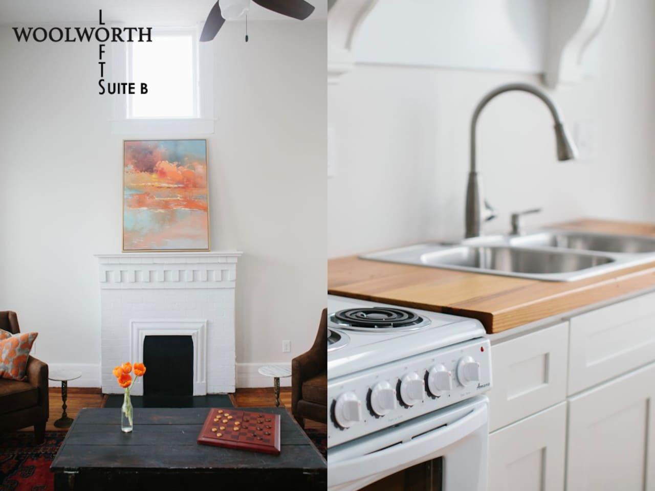 Woolworth Lofts, Suite B. Historic Selma, Alabama - Lofts for Rent ...
