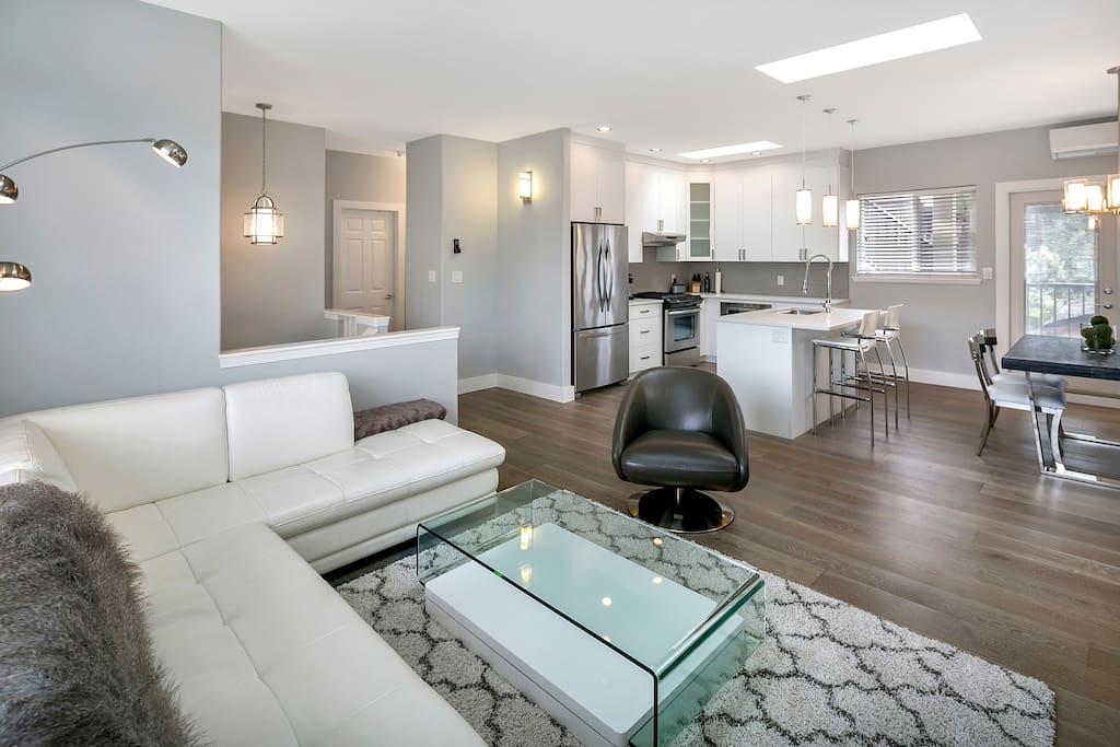 Enjoy time with your fellow travelers in this spacious open concept.