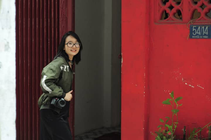 The Red House in Central Saigon