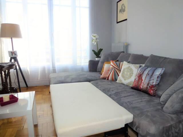 Luminous living-room