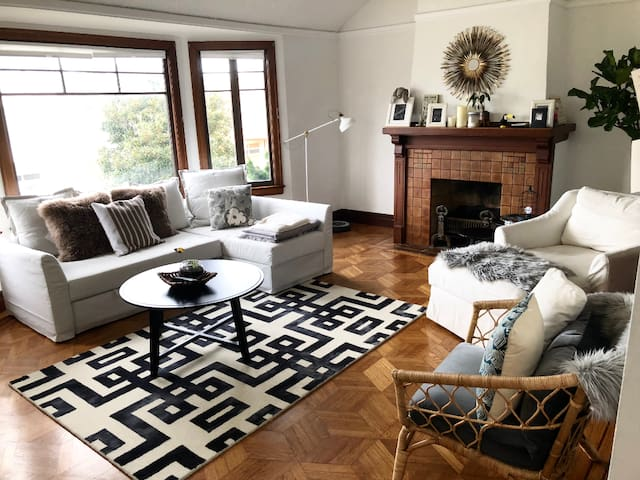Amazing Mission Terrace Home 10 Min Walk to BART
