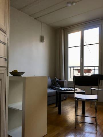 Studio 28m2 modern stylish comfortable quiet