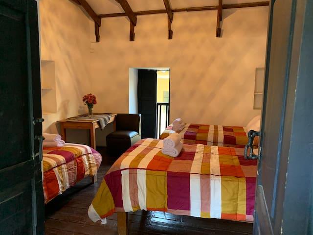 Triple Room at El Canchon