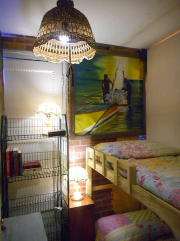 BUNK BEDS BR02 in an Artist's Home