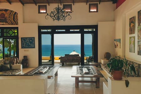 Domical  Ocean View Suite-bedroom+living room - Uvita - Huis