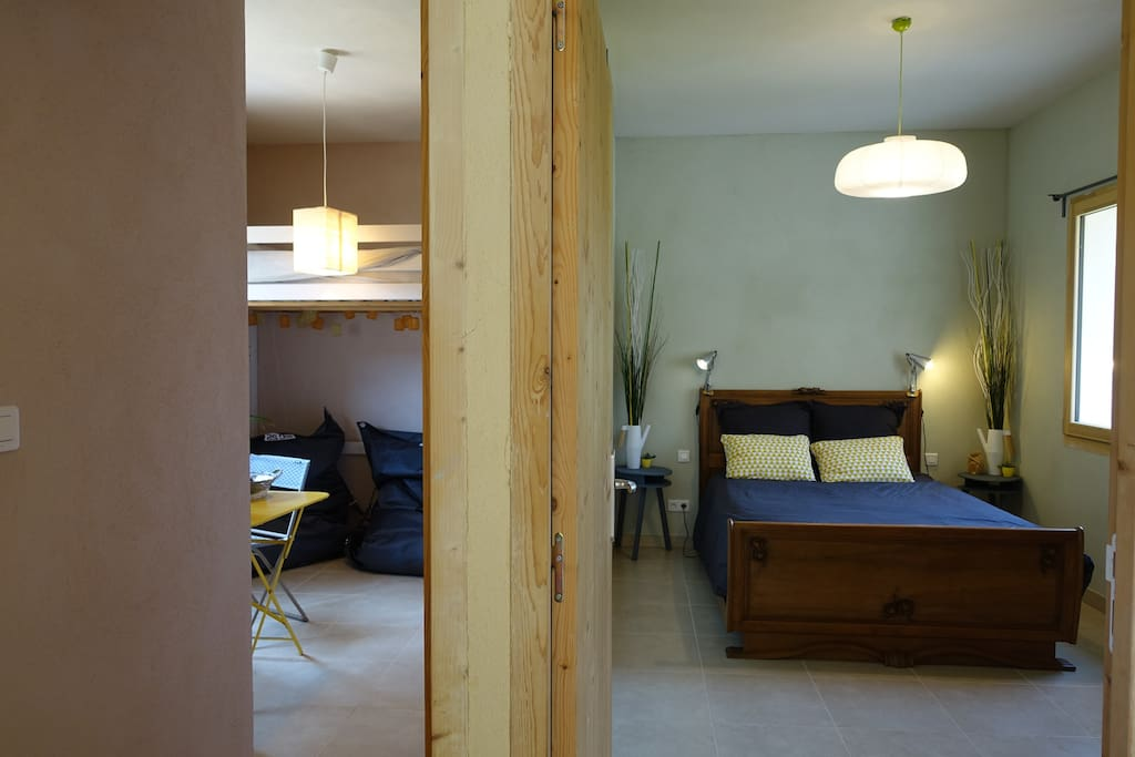 2 chambres avec entrée indépendante