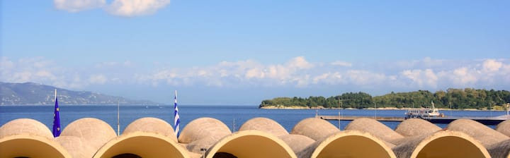 BRAND NEW sea VIEW apartment in Corfu!