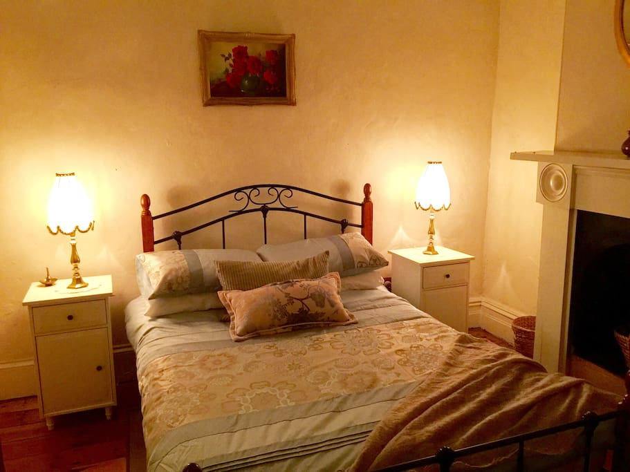 Enjoy the 'Old World'  charm of the Double room