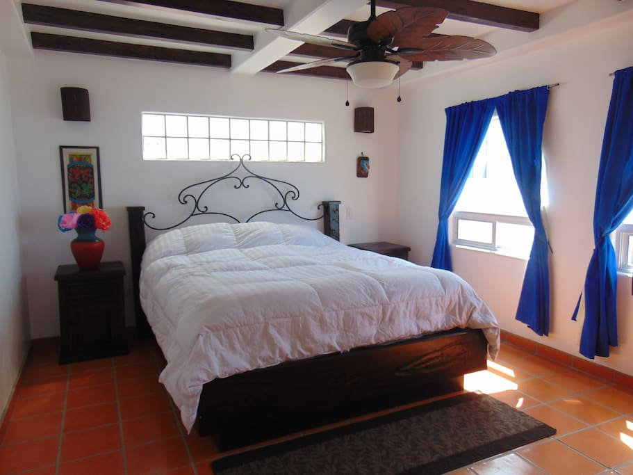master bedroom in Noches de Verano (sample of the style - all bedroom vary)
