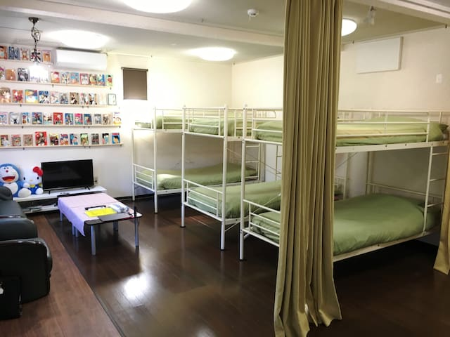 Bed room on the ground floor