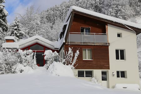 Family room for 4 people with mountain view - Engelberg - Bed & Breakfast