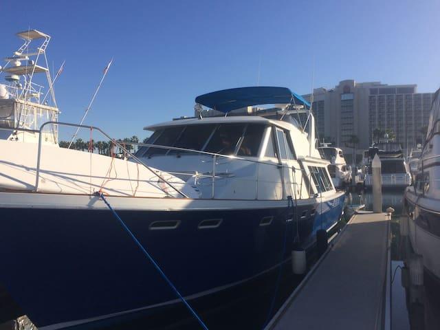 Beautiful Boat in The Marina - San Diego - Boot