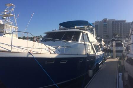 Beautiful Boat in The Marina - San Diego