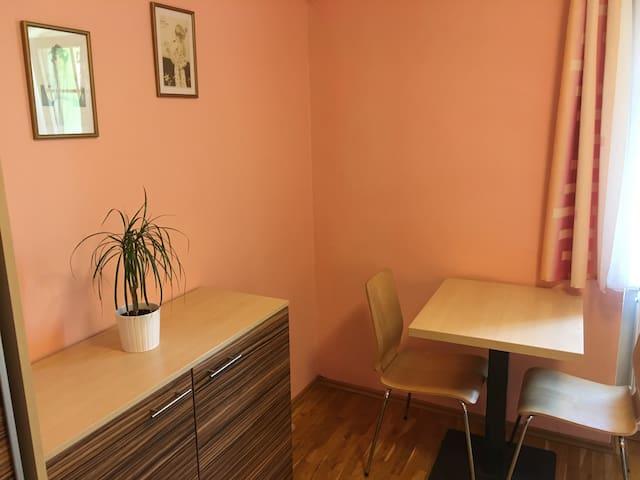Útulný pokoj pro 2 s vlastní koupelnou