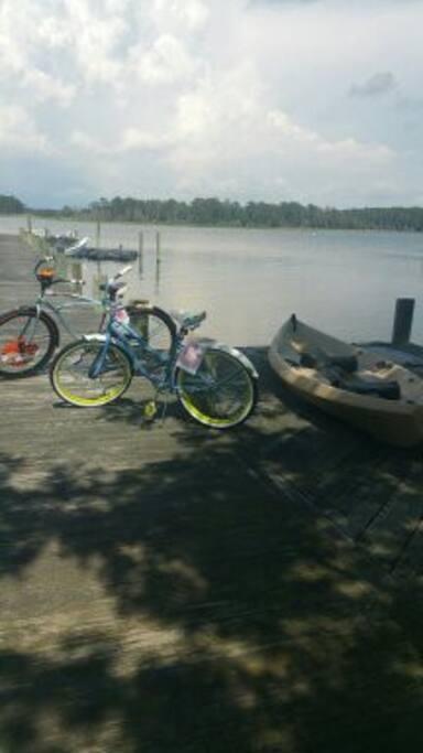 Bicycles & kayaks