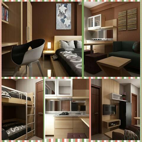 2BR Apartment Gunawangsa MERR - Surabaya - Appartement