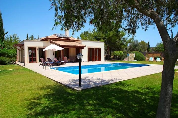 Luxurious villa at Aphrodite Hills Golf Resort