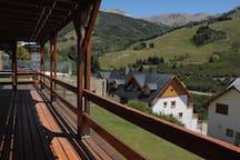 Desde el balcón (verano)