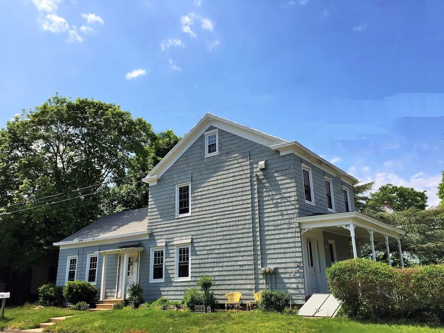 The historic Charles Horton House is among the oldest surviving structures on the North Fork - its most famous resident was Civil War hero Baldwin T. Payne for which Suite C is named.