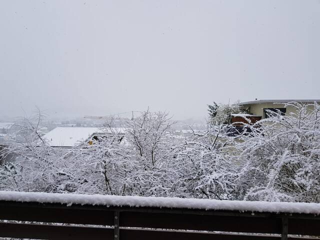 Wohlen im Winter