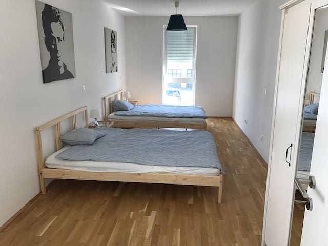 New Modern 100m² Flat, near City
