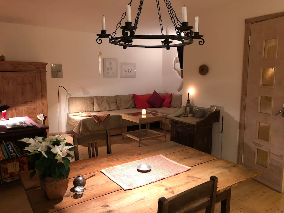 Artisan studio by candlelight