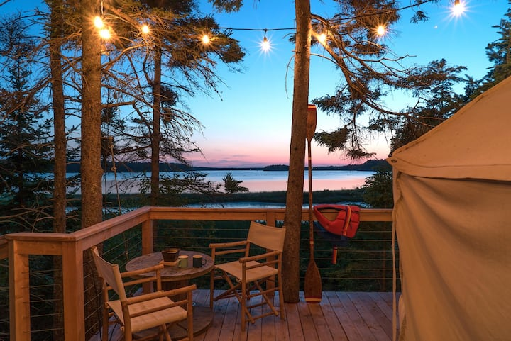 Seaside Tree Tent suite