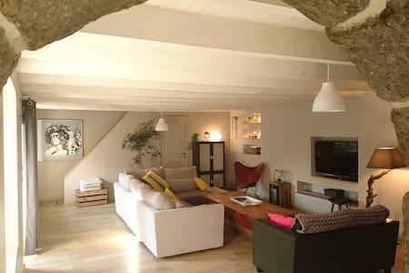 Belle Chambre dans longère 2min de la  Ria d'Etel - Landaul