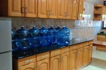 The water bar in our kitchen.