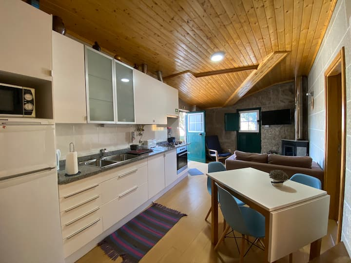 ☆ Rustic 2Bedroom w/FirePlace ☆ Seia ☆ Mountains