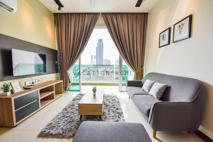 [300m to JB CIQ] Modern&Beautiful City View2Bedder