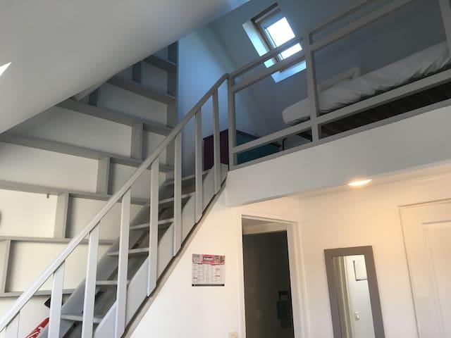 Accès chambre/mezzanine