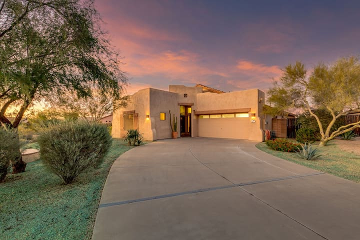 Epic Superstition Views with Private Casita, Heated Pool and Spa!