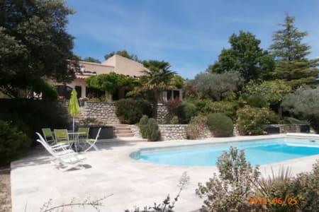 Villa de Charme avec piscine, Mas Les Oliviers - Mollans-sur-Ouvèze