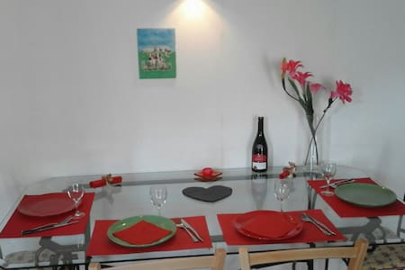 T2 tout confort+breakfast - Cervens - Apartment