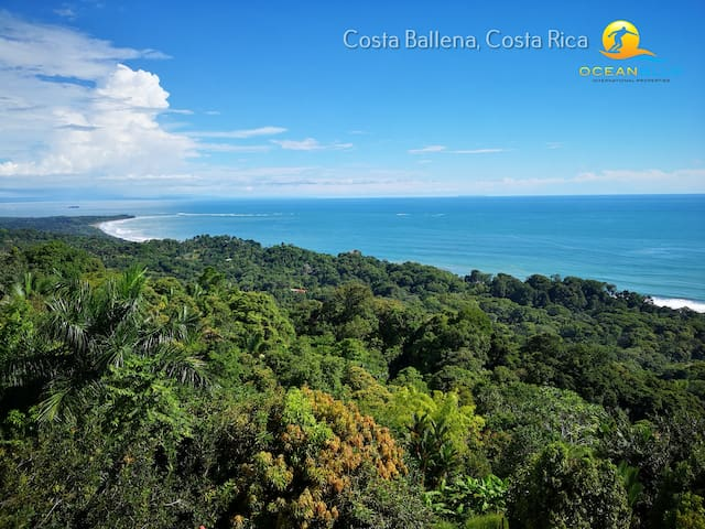 Costa Rica Beach & Jungle Home With Amazing View!
