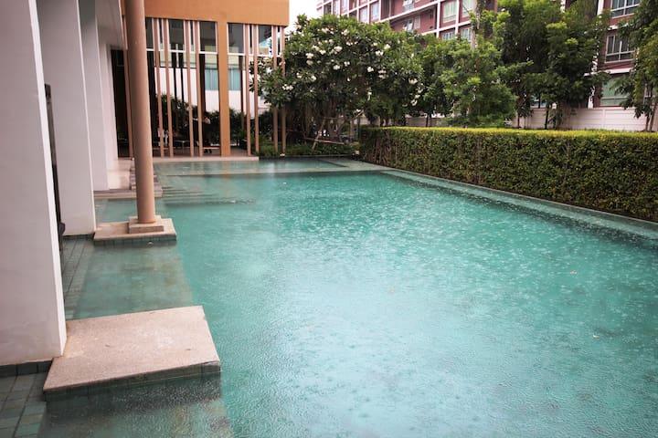Studioroom Baan Koo Kiang on the 8th floor Nr. 172 - Tambon Hua Hin - Apartamento