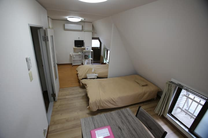 #403 cozy apartment in northern Osaka city