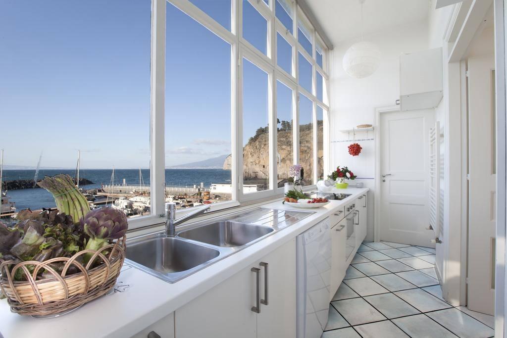 Cucina vista mare