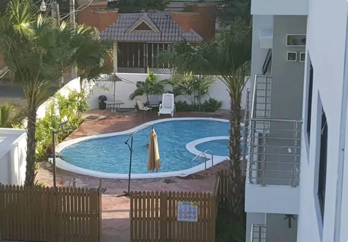 Acogedora habitación para 1 o 2 personas, piscina