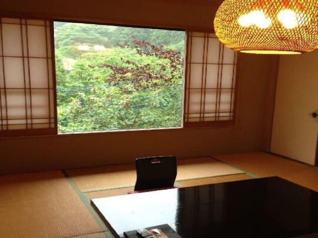 10 tatami mats Japanese room/No Bath/2 meals