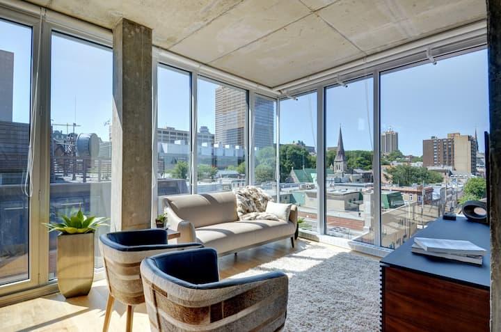Les Immeubles Charlevoix - 760805 Grand Penthouse