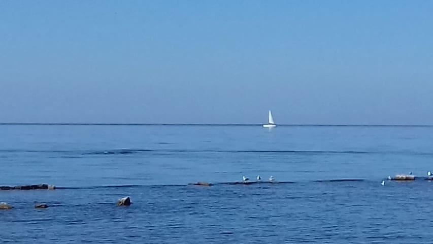 il mare a 150 mt.