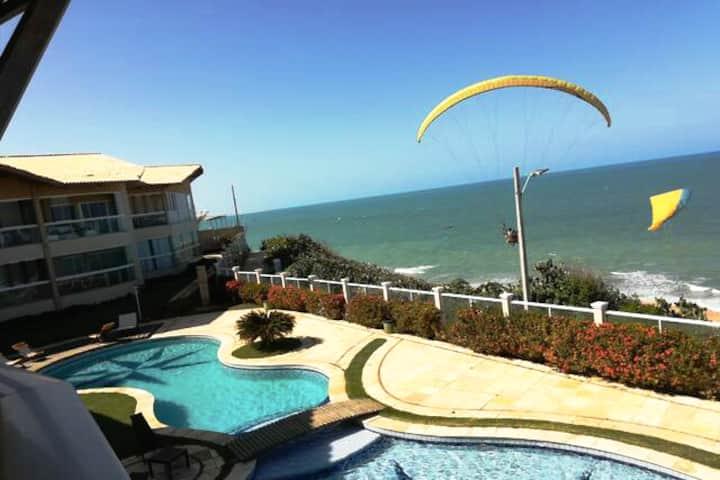Exlusive Beachfront Apartment -Luxury Canoa-Brazil