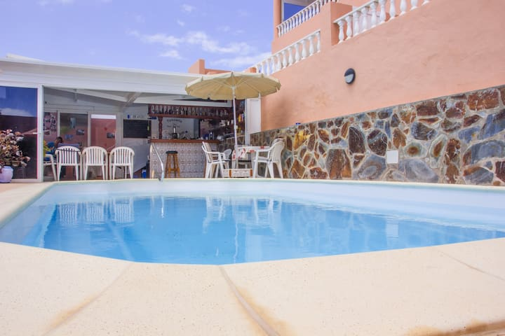 CASA MARRON Apartamento Fuerteventura - Costa Calma - Apartamento