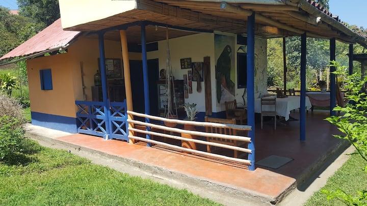 Albergue Azul, Ecological and Educational Farm