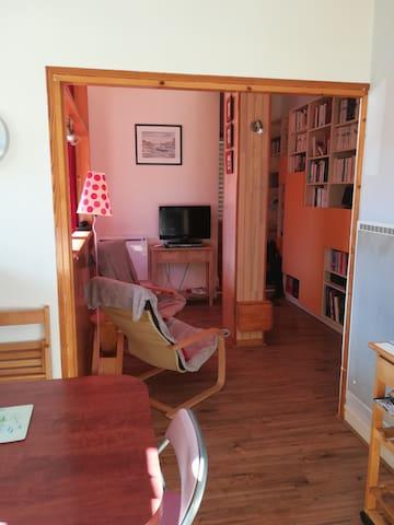 Petit appartement lumineux