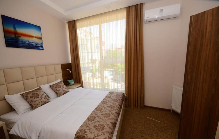 Come visit Glorious Batumi and stay in this lovely double room