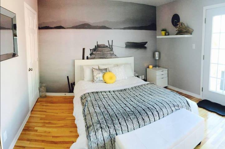 Cozy room in condo - Free parking - 10min from Mtl - Laval - Condominio